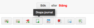 skapa journal